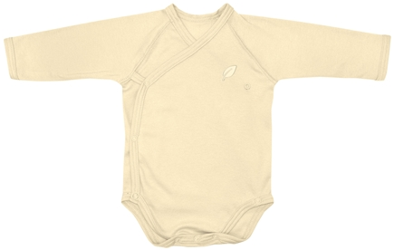 DROPPED: Green Sprouts - Origins Organic Bodysuit Long Sleeve Wrap Medium 6-12 Months Bamboo