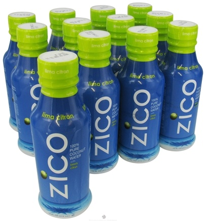 DROPPED: Zico - Pure Premium Coconut Water Lima Citron - 14 oz. CLEARANCE PRICED
