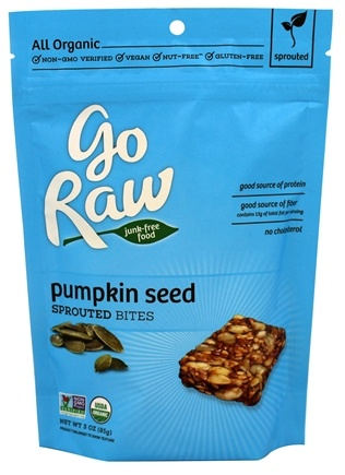 Go Raw - Sprouted Bites Pumpkin Seed - 3 oz.