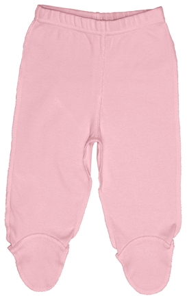 DROPPED: Green Sprouts - Origins Organic Footie Pants Newborn 0-3 Months Rose Pink