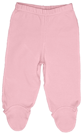 DROPPED: Green Sprouts - Origins Organic Footie Pants Medium 6-12 Months Rose Pink