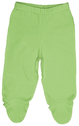 DROPPED: Green Sprouts - Origins Organic Footie Pants Newborn 0-3 Months Sage Green