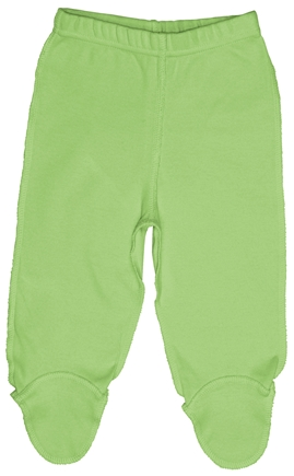 DROPPED: Green Sprouts - Origins Organic Footie Pants Small 3-6 Months Sage Green