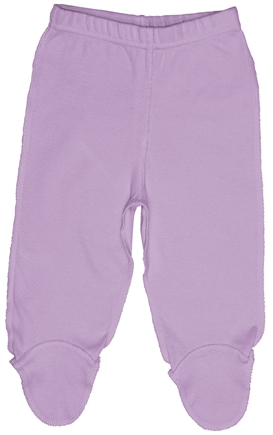 DROPPED: Green Sprouts - Origins Organic Footie Pants Newborn 0-3 Months Lavender