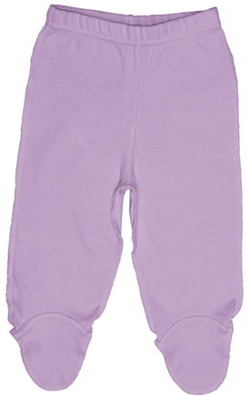 DROPPED: Green Sprouts - Origins Organic Footie Pants Medium 6-12 Months Lavender