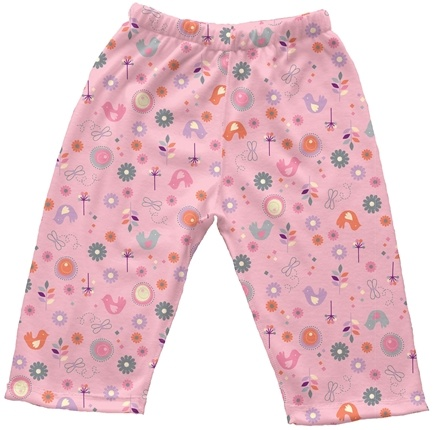 DROPPED: Green Sprouts - Origins Organic Pants Small 3-6 Months Chickadee Rose Pink
