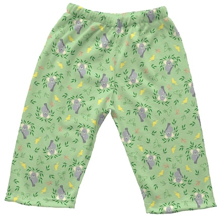 DROPPED: Green Sprouts - Origins Organic Pants Newborn 0-3 Months Koala Sage Green