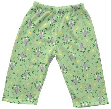 DROPPED: Green Sprouts - Origins Organic Pants Small 3-6 Months Koala Sage Green - CLEARANCE PRICED