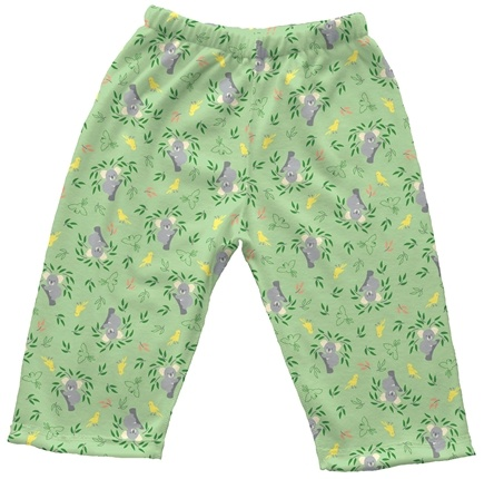 DROPPED: Green Sprouts - Origins Organic Pants Medium 6-12 Months Koala Sage Green