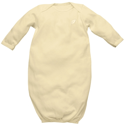 DROPPED: Green Sprouts - Origins Organic Baby Gown Newborn 0-3 Bamboo