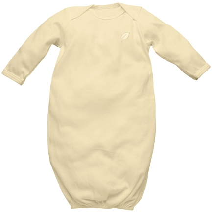 DROPPED: Green Sprouts - Origins Organic Baby Gown Small 3-6 Months Bamboo
