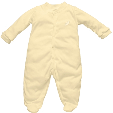 DROPPED: Green Sprouts - Origins Organic Footies Newborn 0-3 Months Bamboo