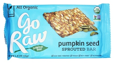 Go Raw - Sprouted Bar Pumpkin Seed - 1.8 oz.