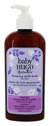 DROPPED: Hugo Naturals - Hugo Baby Foaming Milk Bath Soothing Shea Butter Chamomile - 8 oz. CLEARANCE PRICED