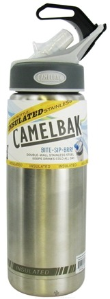 DROPPED: CamelBak - Insulated Stainless-Steel Better Bottle Logo Design - 16 oz. CLEARANCE PRICED