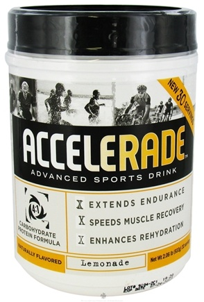 DROPPED: Endurox - Accelerade Advanced Sports Drink Lemonade - 2.06 lbs. CLEARANCE PRICED