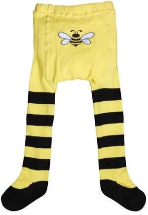 DROPPED: Green Sprouts - Organic Cotton Crawlers Bee Small 6 Months Black & Yellow