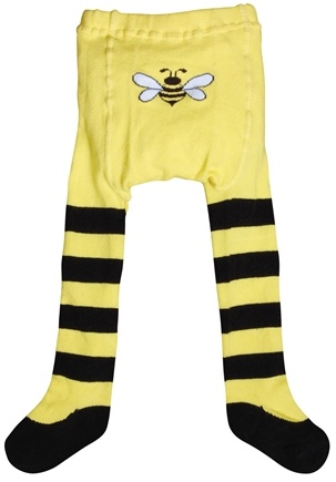DROPPED: Green Sprouts - Organic Cotton Crawlers Bee Medium 12 Months Black & Yellow