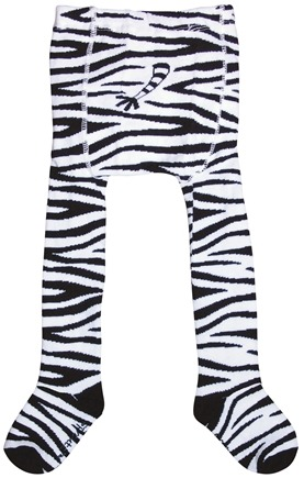 DROPPED: Green Sprouts - Organic Cotton Crawlers Zebra Large 18 Months Black & White