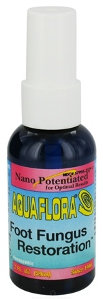DROPPED: AquaFlora - Foot Fungus Restoration - 2 oz. CLEARANCE PRICED