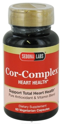DROPPED: Sedona Labs - Cor-Complex Heart Health - 60 Vegetarian Capsules CLEARANCE PRICED