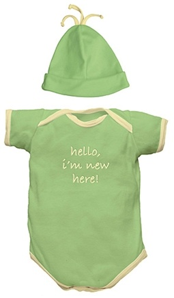 "DROPPED: Green Sprouts - ""I'm New"" Organic Gift Set Small 6 Months Sage Green - 2 Piece(s)"