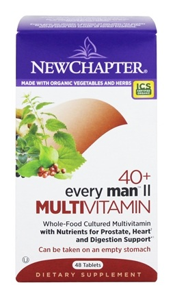New Chapter - Every Man II 40 + Whole Food Complexed Multivitamin - 48 Tablets