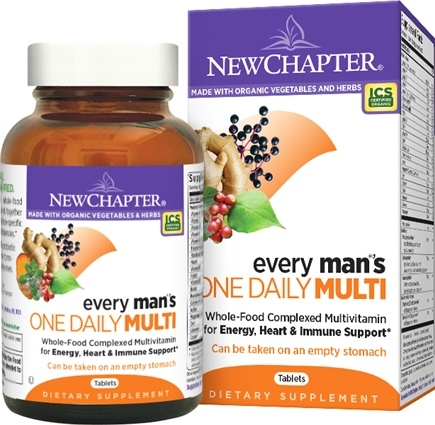 DROPPED: New Chapter - Every Man's One Daily - 24 Tablets