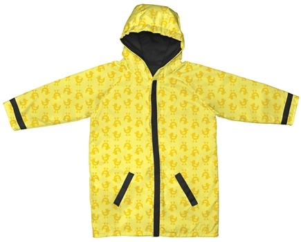 DROPPED: Green Sprouts - Midweight Raincoat Large/Extra Large 18-24 Months Ducks Yellow