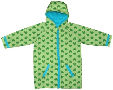 DROPPED: Green Sprouts - Midweight Raincoat Large/Extra Large 18-24 Months Frogs Green