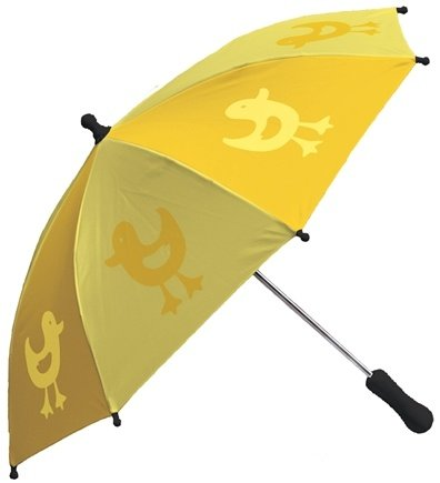 DROPPED: Green Sprouts - Print Umbrella Ducks Yellow
