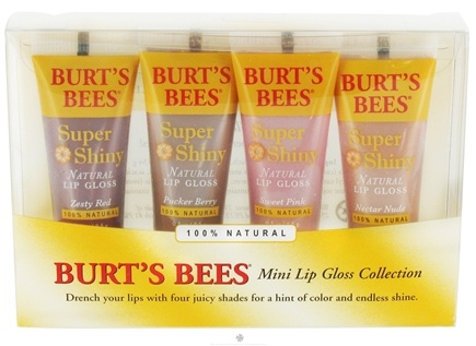 DROPPED: Burt's Bees - Mini Lip Gloss Collection - 4 Pack