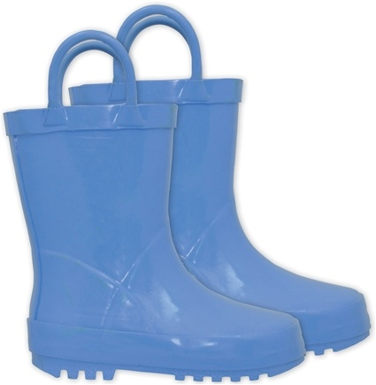 DROPPED: Green Sprouts - Solid Rubber Rain Boots Size 6 Blue