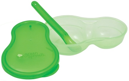DROPPED: Green Sprouts - Baby Food Grinder 3-12 Months Stage 2-3 Green - CLEARANCE PRICED