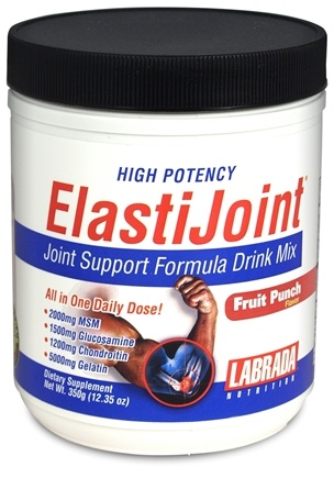 DROPPED: Labrada - ElastiJoint Fruit Punch (350 Grams) - 12.35 oz. CLEARANCE PRICED