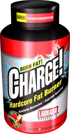 DROPPED: Labrada - Charge Hardcore Fat Burner - 120 Capsules CLEARANCE PRICED