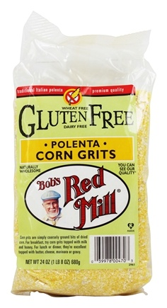 Bob's Red Mill - Gluten Free Corn Grits Polenta - 24 oz.