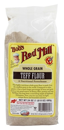 Bob's Red Mill - Gluten Free Teff Flour - 24 oz.