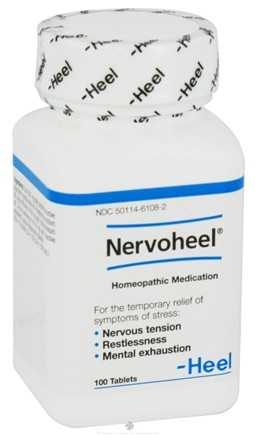 DROPPED: BHI/Heel - Nervoheel For Stress Relief - 100 Tablets