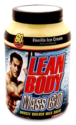 DROPPED: Labrada - Lean Body Mass 60 Vanilla Ice Cream - 3.3 lbs. CLEARANCE PRICED
