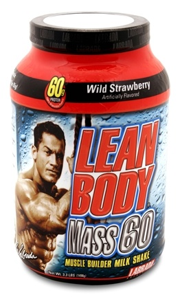 DROPPED: Labrada - Lean Body Mass 60 Wild Strawberry - 3.3 lbs. CLEARANCE PRICED