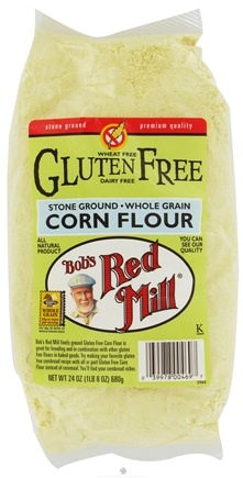 DROPPED: Bob's Red Mill - Corn Flour Whole Grain Gluten Free - 24 oz. CLEARANCE PRICED