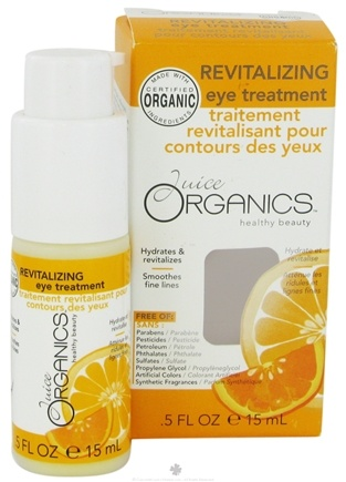 DROPPED: Juice Organics - Revitalizing Eye Treatment - 0.5 oz. CLEARANCE PRICED