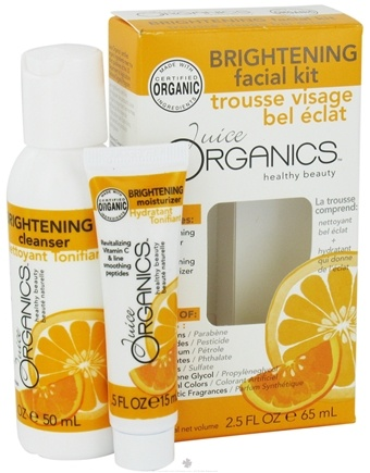 DROPPED: Juice Organics - Brightening Facial Kit - CLEARANCE PRICED