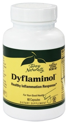 DROPPED: EuroPharma - Terry Naturally Dyflaminol Healthy Inflammation Response - 60 Capsules Formerly Curamin 8X