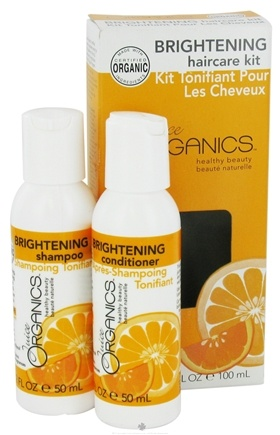 DROPPED: Juice Organics - Brightening Haircare Kit - CLEARANCE PRICED