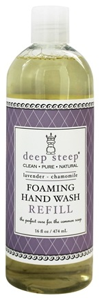 Deep Steep - Foaming Hand Wash Refill Lavender Chamomile - 16 oz.