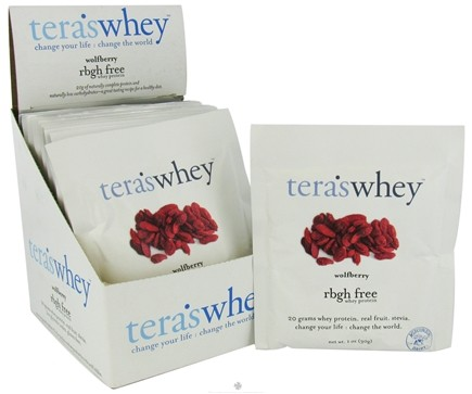 DROPPED: Tera's Whey - Whey Protein rBGH Free Wolfberry - 1 oz.