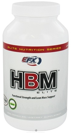 DROPPED: All American EFX - HBM Elite - 250 Capsules CLEARANCE PRICED