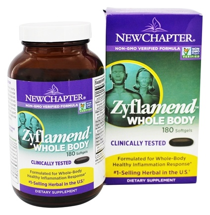 New Chapter - Zyflamend Whole Body - 180 Softgels /LUCKY PRICE
